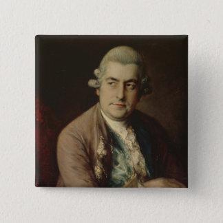 Johann Christian Bach, 1776 15 Cm Square Badge