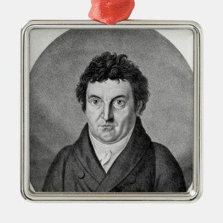 Johann Gottlieb Fichte Christmas Ornament