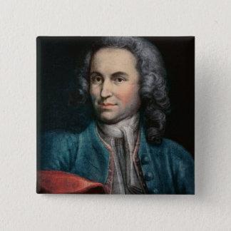 Johann Sebastian Bach  c.1715 15 Cm Square Badge
