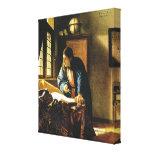 Johannes Vermeer's The Geographer (circa 1669) Canvas Prints