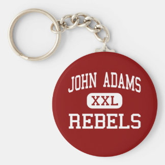 John Adams - Rebels - High School - Cleveland Ohio Key Ring