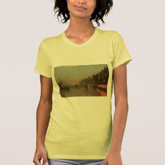 John Atkinson Grimshaw- Liverpool from Wapping Tee Shirt