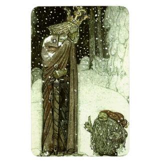 John Bauer The Princess and the Troll Rectangular Photo Magnet
