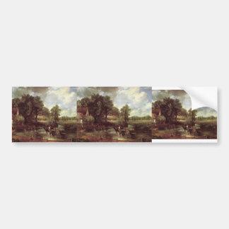 John Constable- The Hay Wain Bumper Sticker