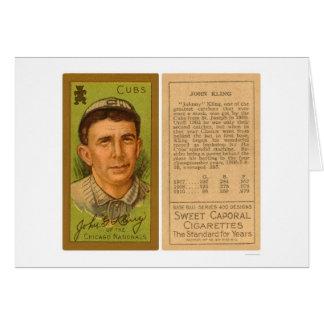John Kling Cubs Baseball 1911 Card