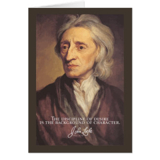 John Locke - Disciple of desire quote note card