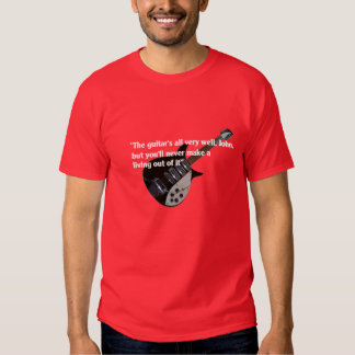 John to guitar Liverpool Auntie Mimi T Shirts