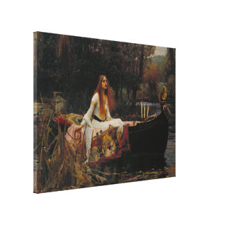 John William Waterhouse - The Lady of Shalott Gallery Wrapped Canvas