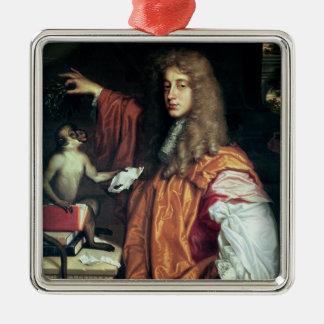 John Wilmot  2nd Earl of Rochester, c.1675 Christmas Ornament