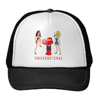 Johnny Condom Protected Mesh Hats