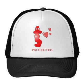 Johnny Condom Protected Hearts Cap