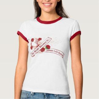 Johnny Law Dawgs Heart Tattoo T-Shirt