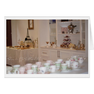 Join us for a French High Tea Invitation