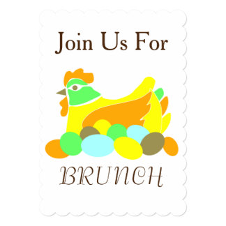 Join Us For Brunch Card