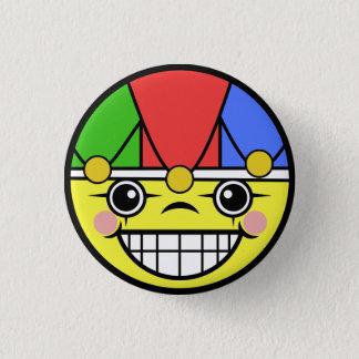 Joker Face 3 Cm Round Badge