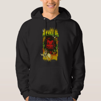 Joker Retro Comic Book Montage Hoodie