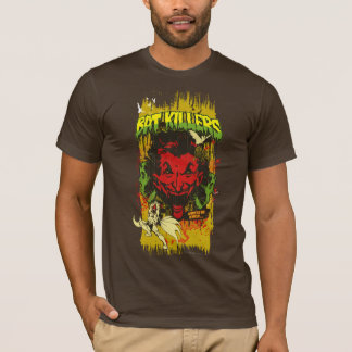 Joker Retro Comic Book Montage T-Shirt