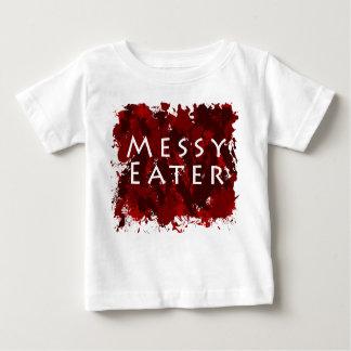 Jokes and Humor - Messy Eater Tee Shirt