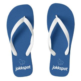 Jokkspot Flip Flops - Blue Thongs