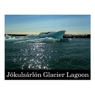 Jökulsárlón Glacier Lagoon postcard