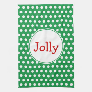 Jolly Holiday Kitchen Towel