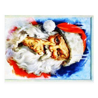 Jolly Old Saint Nick Postcard