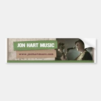 Jon Hart Music banner sticker