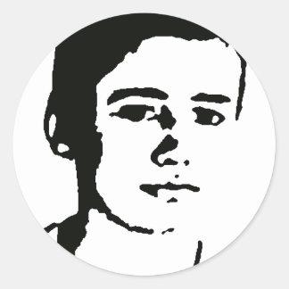 Jon Mahon Classic Round Sticker