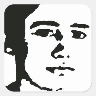 Jon Mahon Square Sticker
