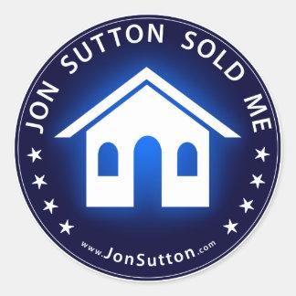 Jon Sutton Sold Me Classic Round Sticker