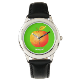 Jonagold Apple Simple Cartoon Green Nature Ecology Watch