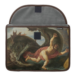 """Jonah and the Whale"" MacBook sleeves"