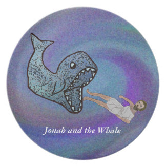 Jonah and the Whale Plate