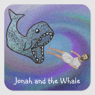 Jonah and the Whale Stickers