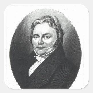 Jons Jakob Berzelius Square Sticker