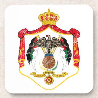 Jordan Coat Of Arms Coaster