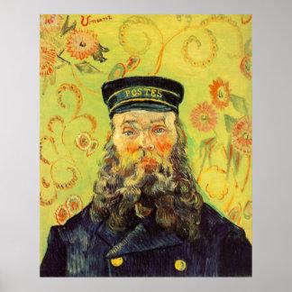 Joseph Etienne Roulin Postman Canvas Print