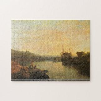Joseph Mallord Turner - Harlech Castle puzzle