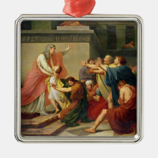 Joseph Recognised by his Brothers Christmas Ornament
