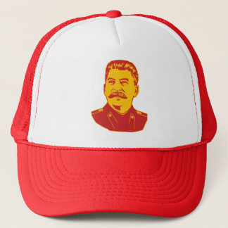 Joseph Stalin Portrait Trucker Hat