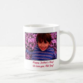 Joshie Among The Flowers, Happy Father's Day!We... Basic White Mug
