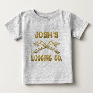 Josh's Logging Company Baby T-Shirt