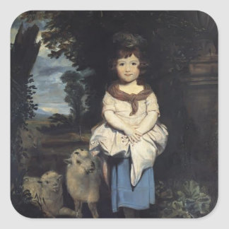 Joshua Reynolds- Miss Price Square Sticker
