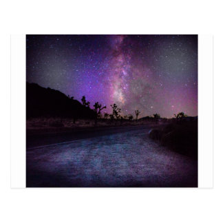 Joshua tree National Park milky way Postcard