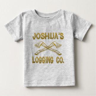 Joshua's Logging Company Baby T-Shirt