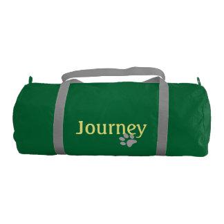 Journey with Paw Print Gym Bag