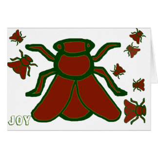 Joy from the Yule Bees Greeting Card