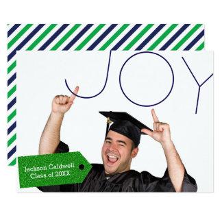 Joy Photo - 3x5 Graduation Announcement