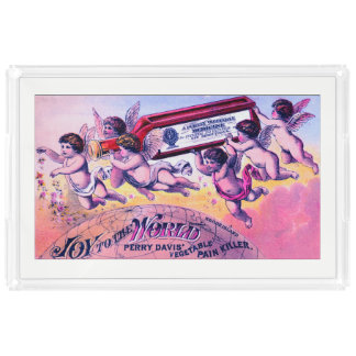 Joy To The World Serving Tray