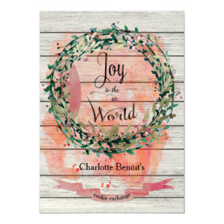 Joyful Cookie Exchange Invitation